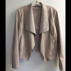 Bagatelle faux lamb suede jacket